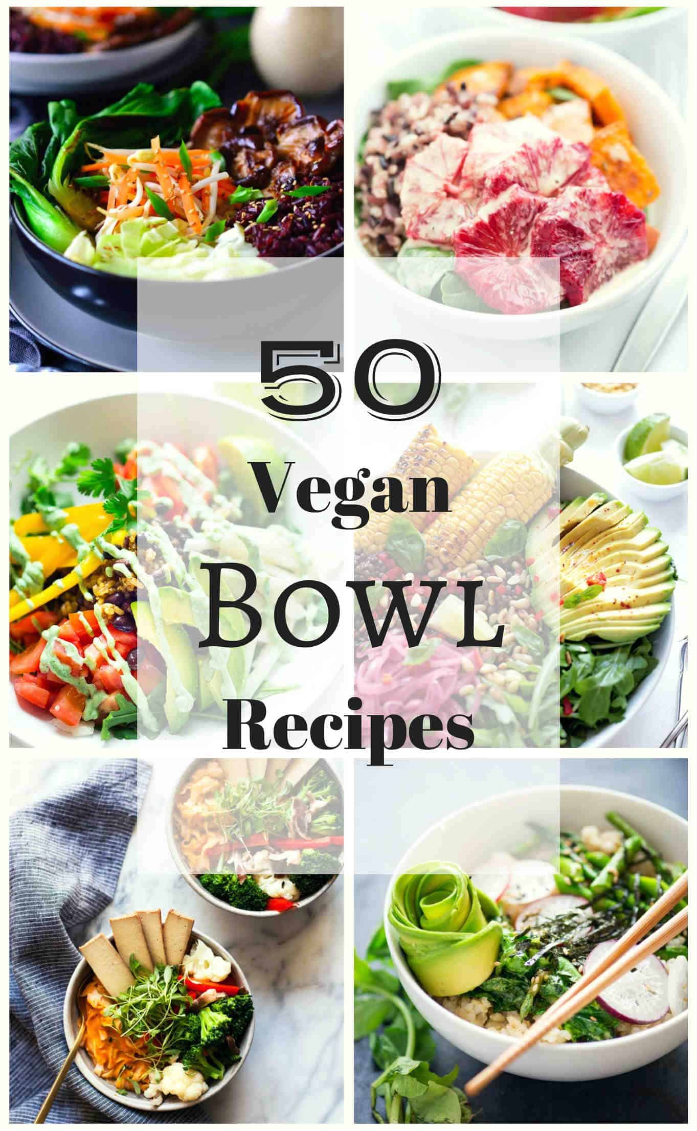 50 vegan bowl recipes the stingy vegan buddha bowls nourish bowls macro bowls glow bowls hippie bowls power bowls and protein bowls that ones mine whatever you choose to call your meal forumfinder Image collections