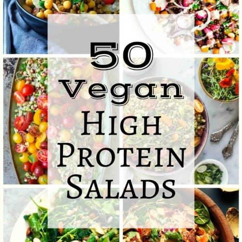 50 Vegan High Protein Salads