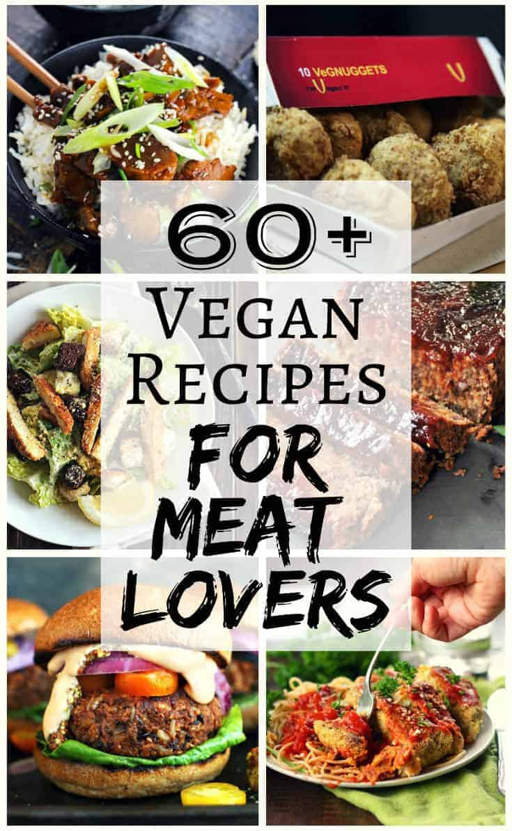 Come check out our roundup of 60+ vegan recipes for meat lovers.